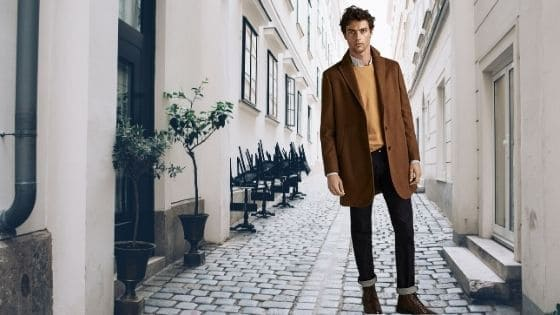 How should a man dress for winter?