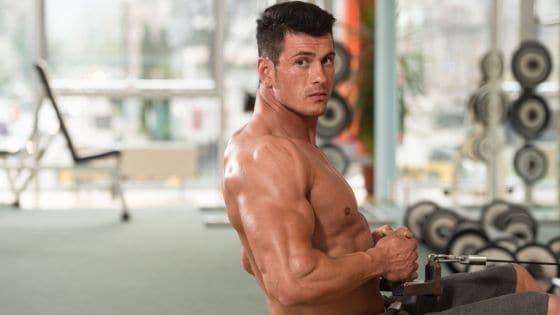 V shape back training principles