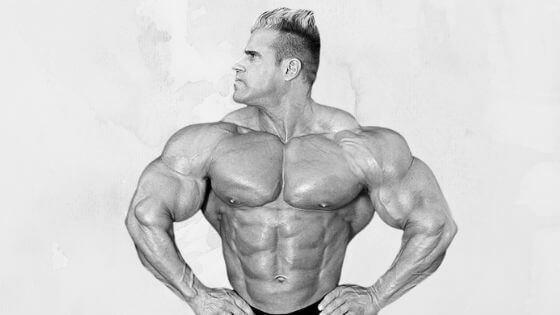 Jay Cutler chest
