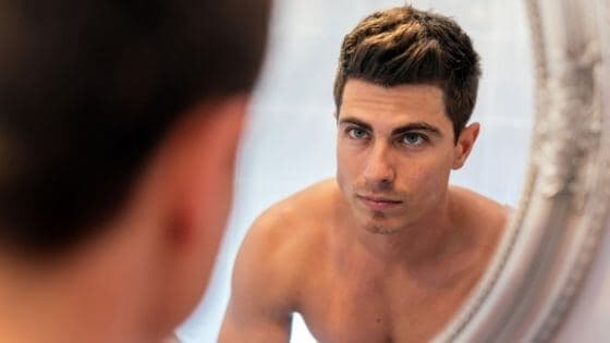 Moisturize your skin to look handsome