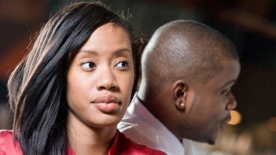 How do you tell if your girlfriend is upset with you?