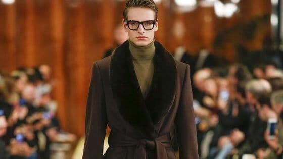 How to dress in winter, male