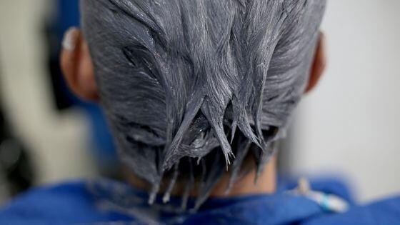 How to dye hair man