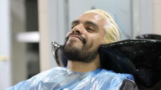 Trendy hair colors for men